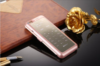 Wholesale new HOT Make Calls Rechargeable External mah Battery Case for iPhone Power Bank Luxury Case for iPhone S Protective Case