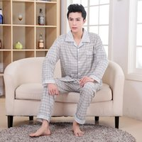 Wholesale New Arrival None Full Patchwork Turn down Collar Casual Button Elastic Waist Regular Pajama Sets
