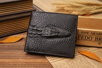 american standard supply - 2016 new foreign trade Japan aspeed to sell goods through the supply of American and American crocodile grain Wallet Card Wallet fashion