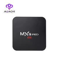 Wholesale 14PCS Original MXQ Pro K Android TV Box Rockchip RK3229 Quad Core Support K x K H Smart TV Box KODI Full loaded IPTV Media player