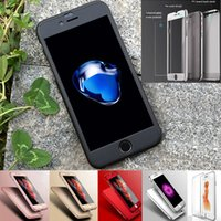 armor all plastic - Full Protective Covered Tempered Glass Film Case for Apple iPhone Plus Armor Ultra Thin Hard All Protective Mobile Cases Fingerprint