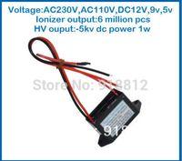 Wholesale AC110V Output Voltrage kv dc ionizer density million AC5V A Series air purifier for home negative ionizer generator