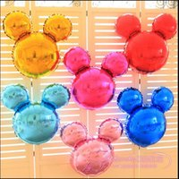 Wholesale Cartoon Mickey Mouse Aluminum Foil Balloon Birthday Wedding Party Supplies Decoration