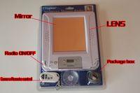 bathroom shower radio - Bathroom Spy Cameras GB Fogless Shower Stereo Radio with Mirror Clock P P