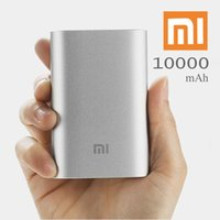 Wholesale 100 Original Xiaomi mAh Power Bank External Battery Pack Usb Charger For iPhone Samsung Smartphone official original
