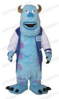 advertising universities - AM0575 Monster University Sully Mascot costume movie Cartoon mascot party costumes EVA foam mascot fur mascot advertising