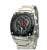 belt box suppliers - Factory Supplier NEW Sportura Kinetic men s watch SNL033P1 chronograph stainless steel belt Original box