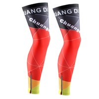 Wholesale Changdi New bicycle bike MTB cycling leg warmers sleeve spring summer polyester fabric knee warmer perneras ciclismo size S XXL