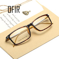 al leg - Myopia Fashion Glasses With Clear Lenses Titanium Men Women Optical Frames Retro Optical Glasses Al Mg leg gafas de ver MW