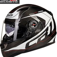 airbag band - LS2 FF396 double lens carbon fiber motorcycle helmet band airbag edition