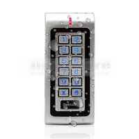 Wholesale Waterproof RFID KHz Access Controller Reader Keypad With Metal Case High performance W1