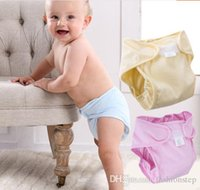 Wholesale Pure Cotton Baby Diapers Reusable Diapers Cloth Nappies Breathable Newborn Diaper waterproof