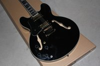 Wholesale G custom shop left handed black Electric guitar in stock Chinese factory