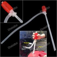 Wholesale barterine Portable Manual Car Siphon Hose Gas Oil Water Liquid Transfer Hand Pump Sucker Save up to