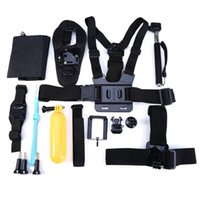Wholesale Cool in Outdoor Sports Action Camera Accessories Kit Chest Strap WiFi Remote Wrist Strap Helmet Strap For Gopro Hero