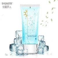 Wholesale BAIMISS After Sun Icy Repair Gel Face Cream Moisturizing Repairing Face Care Summer Sunblock Skin Care Body Care bottle g