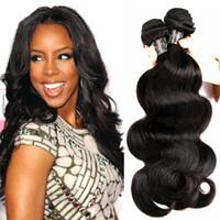 Wholesale Best Quality A Brazilian Virgin Hair Body Wave Brazilian Human Hair Weaves Bundles Full Head Rosa Brazilian Hair Bundles