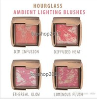 Wholesale 2016 NEW Arrival HOURGLASS Makeup Face Blush Ambient Lighting Powder Natural Blusher Palette Long lasting Cosmetic Blushes types