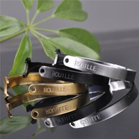 Wholesale New Punk Spanner Bracelet Stainless Steel Polishing Top Quality Motor Biker Bracelet For Men Party Gift