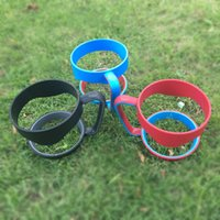 Wholesale Blanks Solid Color Tumbler Holder oz Yowies Tumblers Holder Stainless Steel Cup Holder with colors DOM103354