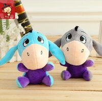 baby donkeys - 18CM Donkey Eeyore soft plush stuffed animal toys dolls Christmas birthday gifts for baby