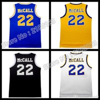 Wholesale 2016 New Love Basketball movie MCCall Movie Stitched embroidery Logos Throwback McCall Jersey fast