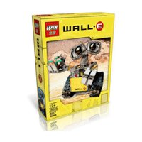 Wholesale Idea Wall E Robot Building Kit Toy Walle Tank Display Machine Block Puzzles