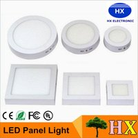 Wholesale 2016 New W W W Round Square Dimmable Led Surface Mounted Panel Light Led Downlight lighting Led ceiling down spotlight V