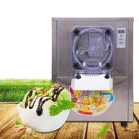 Wholesale 220V Ice Cream Machine Stainless Steel L h Commercial Hard Ice Cream Maker