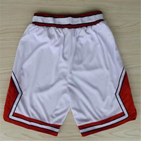 active materials - Chicago Basketball Shorts Stitched Logo Embroidery New Material Rev Sports Shorts Mix order