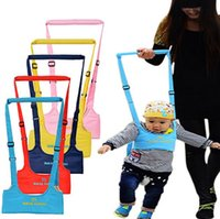 Wholesale New Colors Brand New Baby Infant Walking Belt Kid Toddler Walking Learning Assistant Harness Strap