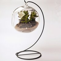 Wholesale Clear Flower Hanging Vase Planter Terrarium Container Glass Home Wedding Decor
