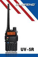 Wholesale BF r bao feng dual band walkie talkie two way radio emergency alarm scanning function
