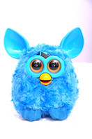 Wholesale Plush Interactive Toys New Electronic Robotic Phoebe Electric Pets Owl Hamster Recording Talking Child Gift cm