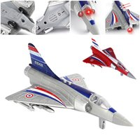 Wholesale 2016 New LB air Alloy Diecast Aircraft Model Toys Sound Light Children Toy Best Christmas Gift
