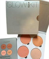 Wholesale 2016 New Branded ABH Glow Kit Makeup Face Blush Powder Blusher Palette Cosmetic Blushes Shades Gleam That Glow