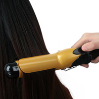 anodized aluminum rod - Hot Sale mm Professional Ionic Ceramic Coating Flexi Rods Culler Waver Hair Curling Iron Electric Curler Styler Rollers Wand