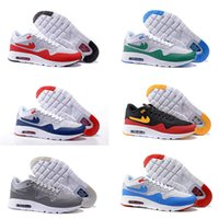 Cheap Drop Shipping Wholesale Cheap Famous Air 87 Ultra Fly knit Kids Boys Mens Running Shoes Max 1 Sneaker Trainers size 40-46