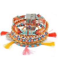 Wholesale FINGERHAND Ipanema Fashion Bracelets For Women Magnet Bracelet Multilayers Tassels Bracelet