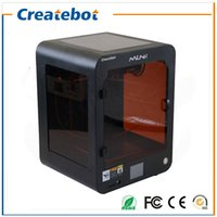 accuracy glass - FDM Createbot Mini D Printer Desktop D Printer Kit mm Print Size with both Nozzle Touch Screen and Heatbed High Accuracy