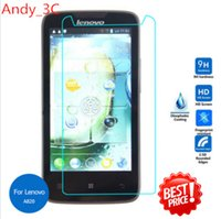 Cheap Lenovo A820 Tempered Glass Screen Protector 2.5 9h Safety Protective Film on A820T Dual ideaphone lephone A 820 820T