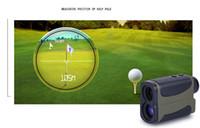 Wholesale 10X25 M green golf Laser Rangefinders hunting Laser Distance Meter Handheld meter outdoor range finder hunting rangefinder