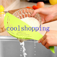 Plastic animal food machine - Clean Rice Machine stick Wash rice manual cartoon whale animal food grade plastic kitchen cooking tools