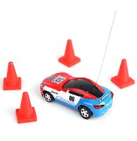 Wholesale New Arrival Childrens Multicolor Coke Caned Car Toys Mini Speed Remote Control Micro Racing Car Toy Gift
