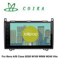 africa plays - 9 Inch Quad Core Android Head Unit Car DVD GPS For Mercedes Benz B200 W169 W639 W245 W906 Vito Viano Sprinter WIFI G OBD DVR Google Play