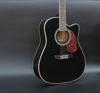 acoustic guitar range - Authentic inch black folk guitar Acoustic guitar student beginner basswood mid range guitar Folk guitar
