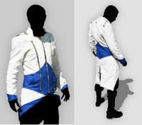 assassins creed costume pattern - Hot Sale Custom handmade Fashion Assassins Creed III Connor Kenway Hoodies Costumes Jackets Coat colors choose direct from factory