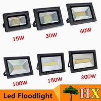 ac items - Hot item LED flood lights W W W W W W Sumsung Led chips SMD4014 Floodlight for outdoor lighting waterproof landsacpe lamp