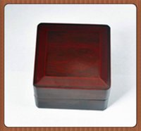 Wholesale Good Quality Solid Wooden Boxes Sigle Rings One Position Championship Rings With Good Look