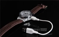 antique cigar lighters - 10pcs New Military USB Charging sports Lighter Watch Men s Casual Quartz Wristwatches with Windproof Flameless Cigarette Cigar Lighter